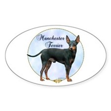 Manchester Potrait Oval Decal