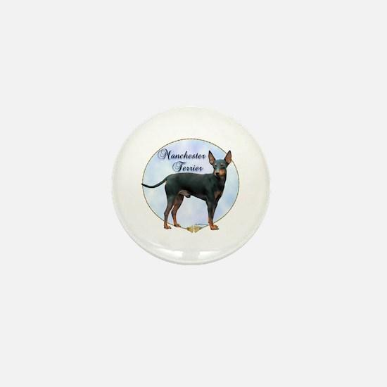 Manchester Potrait Mini Button