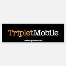 Triplet Mobile (O)- Bumper Bumper Bumper Sticker