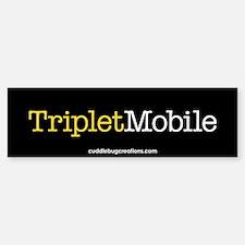 Triplet Mobile (Y) - Bumper Bumper Bumper Sticker