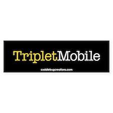 Triplet Mobile (Y) - Bumper Bumper Sticker