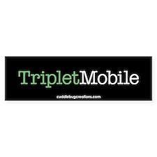Triplet Mobile (G)- Bumper Bumper Sticker
