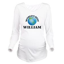 World's Best William Long Sleeve Maternity T-Shirt