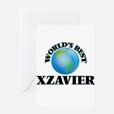 World's Best Xzavier Greeting Cards