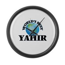 World's Best Yahir Large Wall Clock