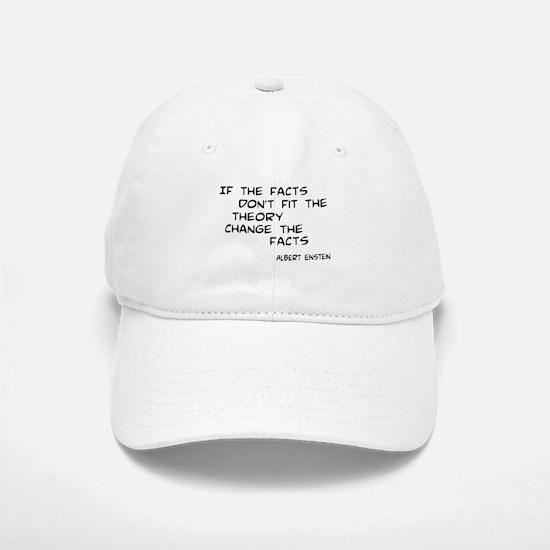 Facts Don't Fit Baseball Baseball Cap