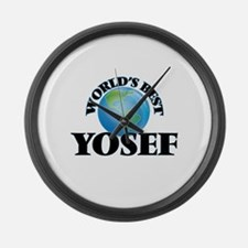 World's Best Yosef Large Wall Clock