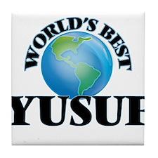 World's Best Yusuf Tile Coaster