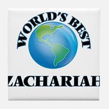 World's Best Zachariah Tile Coaster