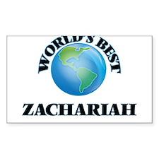 World's Best Zachariah Decal