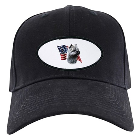 Cairn Flag Black Cap