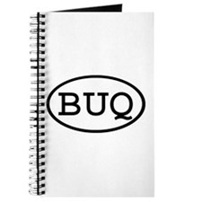 BUQ Oval Journal
