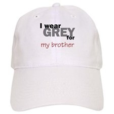Grey for my Brother Baseball Cap