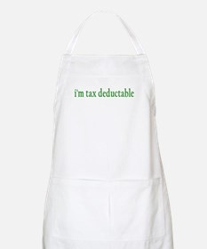 I'm tax deductable BBQ Apron