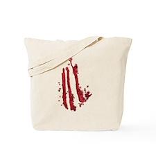 Slashed Tote Bag