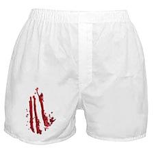 Slashed Boxer Shorts