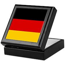 Cute German soccer Keepsake Box