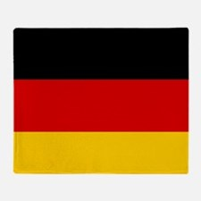 Cute German american flag Throw Blanket
