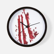 Slashed Wall Clock