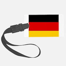 Cute German american Luggage Tag