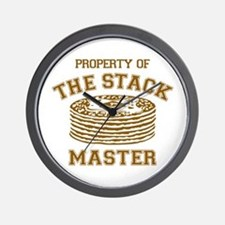 Property Of Stack Master Wall Clock
