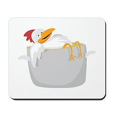 Chicken In Pot Mousepad