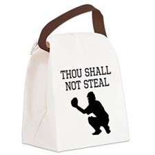 Thou Shall Not Steal Canvas Lunch Bag
