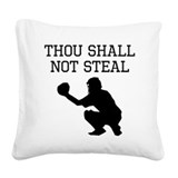 Baseball Square Canvas Pillows