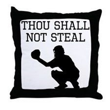 Thou Shall Not Steal Throw Pillow