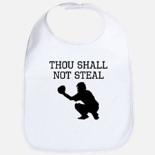 Thou Shall Not Steal Bib