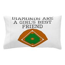 Diamonds Are A Girls Best Friend Pillow Case