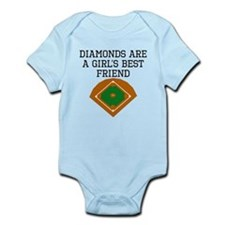 Diamonds Are A Girls Best Friend Body Suit