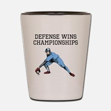Defense Wins Championships Shot Glass