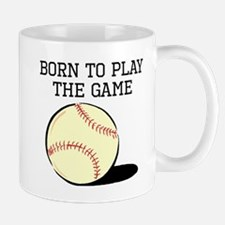 Born To Play The Game Mugs