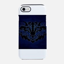 Tribal Wolf Blue iPhone 7 Tough Case