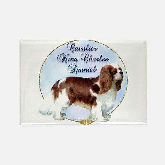 Cavalier Portrait Rectangle Magnet