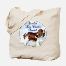 Cavalier Portrait Tote Bag