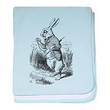 Rabbit baby blanket