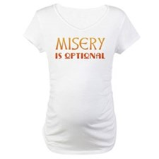 Misery Is Optional Recovery Shirt