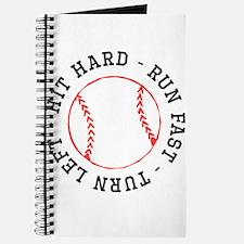Hit Hard Run Fast Turn Left Journal
