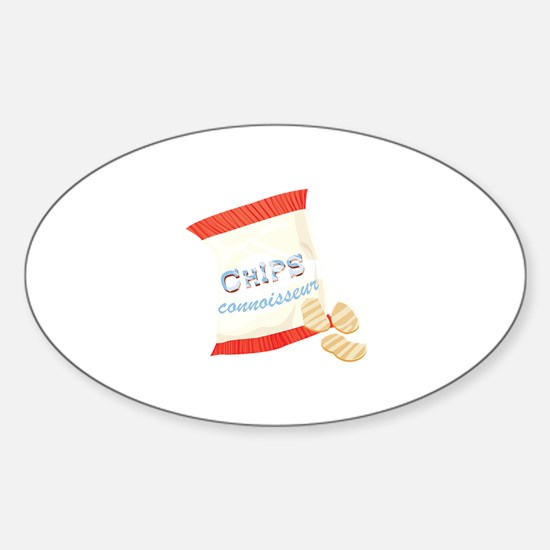 Chips Connisseur Decal