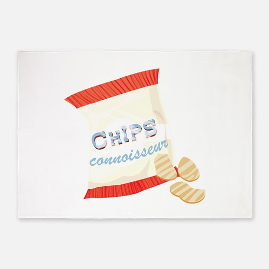 Chips Connisseur 5'x7'Area Rug