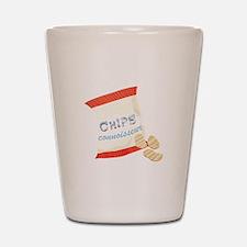 Chips Connisseur Shot Glass