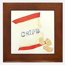 Chips Bag Framed Tile