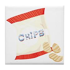 Chips Bag Tile Coaster