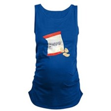 Chips Bag Maternity Tank Top