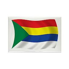Druze Flag Rectangle Magnet (100 pack)