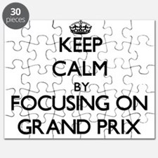 Keep Calm by focusing on Grand Prix Puzzle