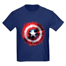 Cap Shield Spattered T