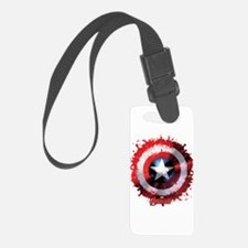 Cap Shield Spattered Luggage Tag